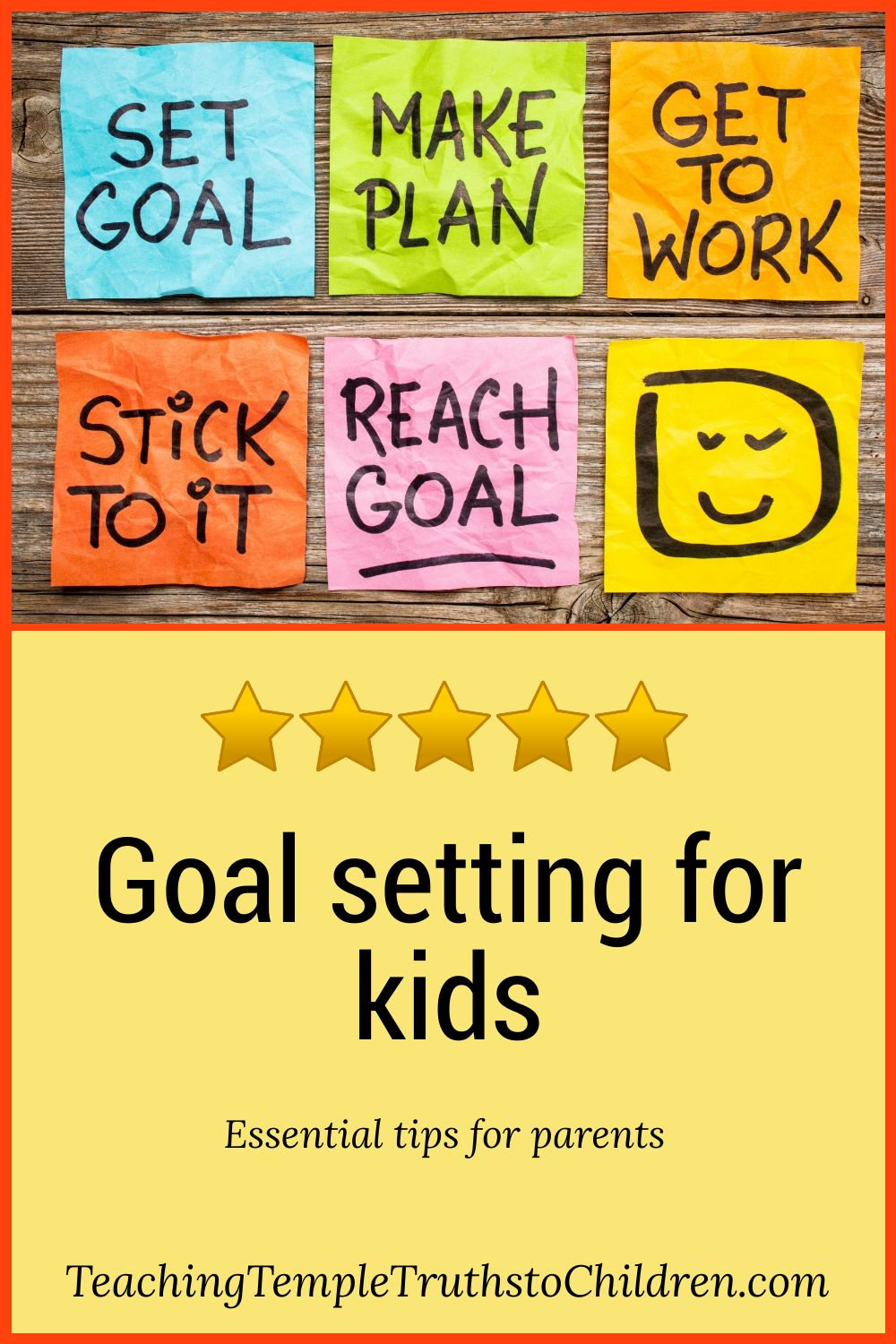 How to help kids set goals