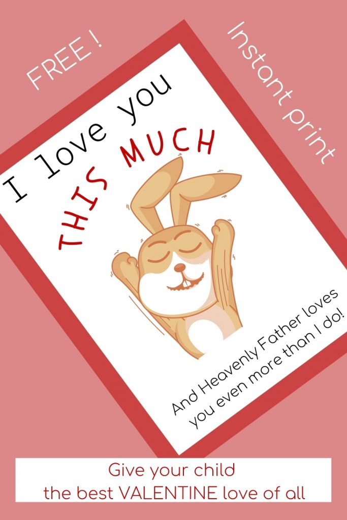 The best Valentine's Day card for parents to give to kids